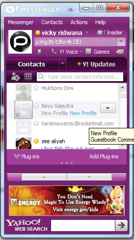 Download Aplikasi Yahoo Messenger - Aplikasi Chatting