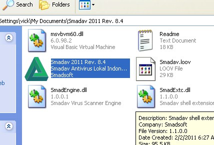 Cara install Aplikasi Antivirur Smadav