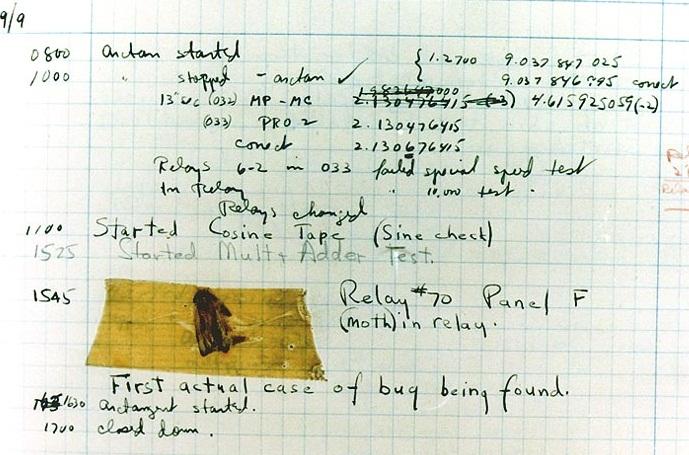 Pengertian Bug Komputer - Asal Kata Bug