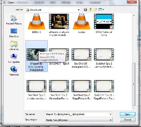 cara mengecilkan ukuran file video 5