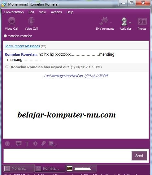 Download Aplikasi Yahoo Messenger - Aplikasi Chatting