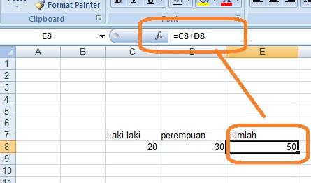 Cara Membuat Rumus Dan Memasukkan Rumus Microsoft Excel Belajar Komputer Mu