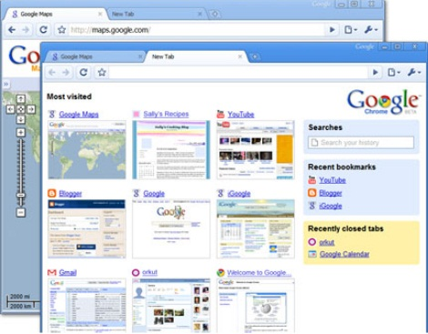 contoh freeware google chrome