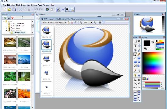 conton aplikasi freeware gimp